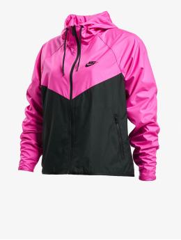 Nike Kurtki przejściowe Windrunner  czarny
