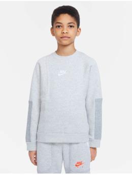 Nike Långärmat  Air Crew grå