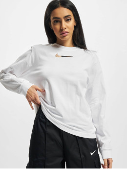 Nike Langermet NSW Boxy hvit