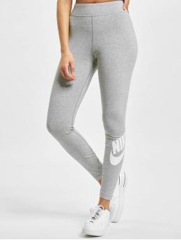Nike Legíny/Tregíny Sportswear Essential GX HR šedá