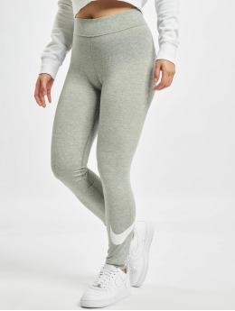 Nike Legging Sportswear Essential GX MR Swoosh gris