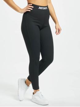 Nike Legging 7/8 JDI Rib schwarz