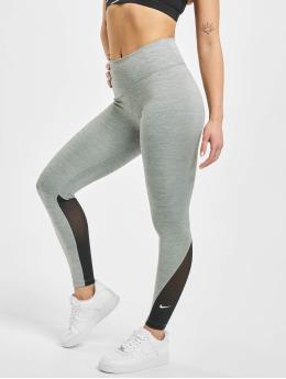 Nike Leggings de sport One 7/8 gris