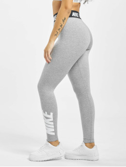 Nike Leggings Club HW grå