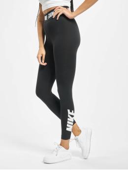 Nike Leggings/Treggings Club HW czarny