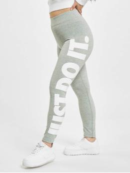 Nike Leggings/Treggings Sportswear Essential GX HR grå