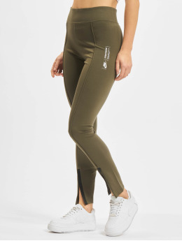 Nike Leggings/Treggings Legasee Zip  khaki