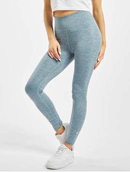 Nike Leggings/Treggings One Tight niebieski