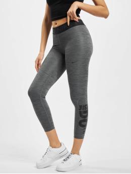 Nike Leggings/Treggings Pro Tight 7/8 HTR JDI sort