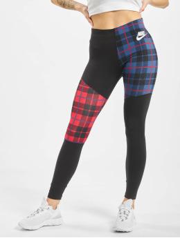 Nike Leggings/Treggings Plaid  svart