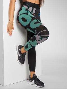 Nike Leggingsit/Treggingsit AOP musta