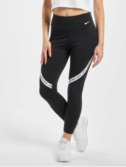 Nike Leginy/Tregginy One Tight Crop čern