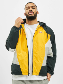 Nike Lightweight Jacket Woven Signature Windrunner gold colored