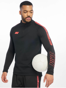 Nike Longsleeve Dry Squad Dril schwarz