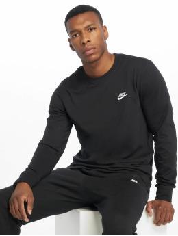 Nike Longsleeve Club LS zwart