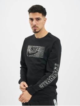 Nike Longsleeve Futura Foil  zwart