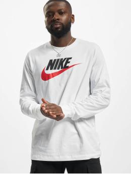 Nike Maglietta a manica lunga Icon Futura  bianco