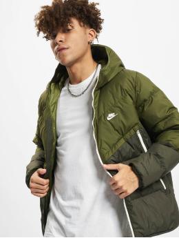 Nike Manteau hiver NSW SF Windrunner Hooded vert
