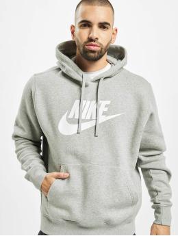 Nike Mikiny Club Hoodie Dark šedá
