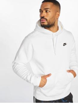 Nike Mikiny Club PO BB Hoody biela
