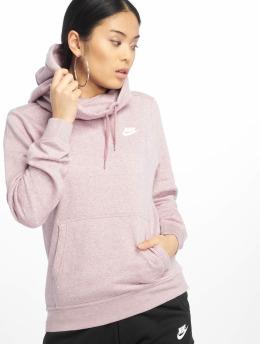 Nike Mikiny Sportswear Funnel fialová