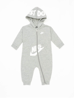 Nike Monos / Petos Nkn Hooded Baby Ft Coverall gris