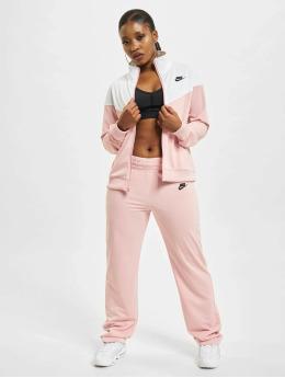 Nike Obleky W Nsw Trk Suit Pk růžový