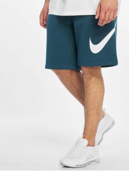 Nike Pantalón cortos Club EXP BB turquesa