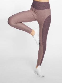 Nike Performance Леггинсы Power Studio розовый
