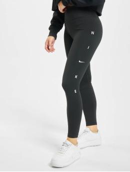 Nike Performance Леггинсы One Tight 7/8 GRX черный