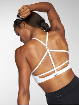 Nike Performance Спортивный бюстгальтер Indy Sports белый