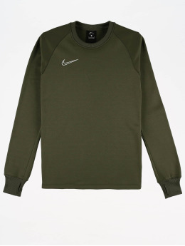 Nike Performance Спорт Футболки Therma Academy  оливковый