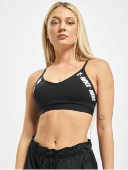 Nike Performance Biustonosz sportowy Indy Logo czarny