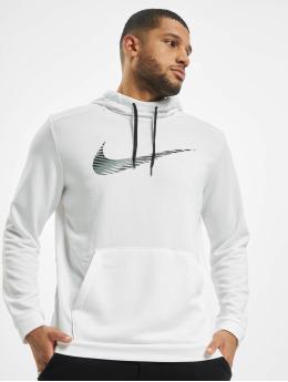 Nike Performance Bluzy z kapturem Swoosh Dry bialy