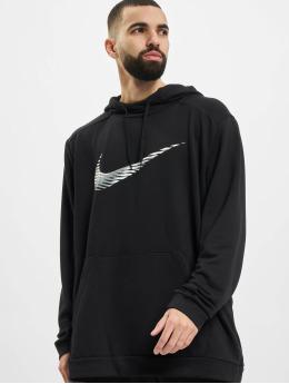 Nike Performance Bluzy z kapturem Swoosh Dry czarny