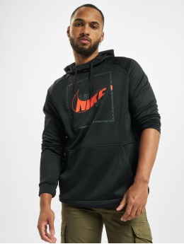Nike Performance Bluzy z kapturem Thrma Hd Po Px Cnct2 czarny