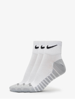 Nike Performance Chaussettes Lightweight Quarter blanc