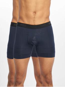 Nike Performance Compressie Ondergoed Brief Boxer 2PK blauw