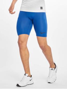 Nike Performance Compressie shorts Pro blauw