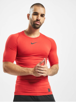 Nike Performance Compressie t-shirts Pro Compressions rood