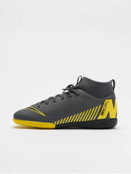 Nike Performance Hallenschuhe Junior Superfly 6 Academy GS IC grau