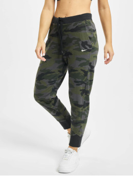 Nike Performance Joggebukser Dry Get Fit Fleece 7/8 Camo kamuflasje