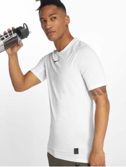 Nike Performance Kompressionsshirt Compressions bialy