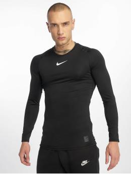 Nike Performance Langærmede Fitted  sort