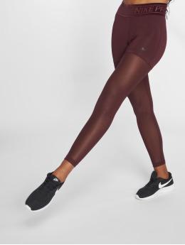Nike Performance Leggings Pro Tights röd