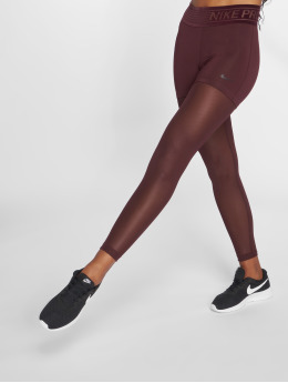 Nike Performance Leggings/Treggings Pro Tights czerwony