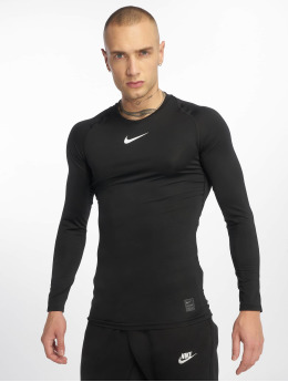 Nike Performance Longsleeve Fitted  schwarz