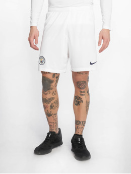 Nike Performance Pantalones cortos de fútbol Breathe Manchester City FC Home/Away blanco