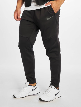 Nike Performance Pantalons Football Therma Squad  noir