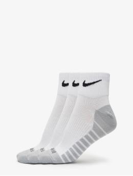 Nike Performance Ponožky Lightweight Quarter biela